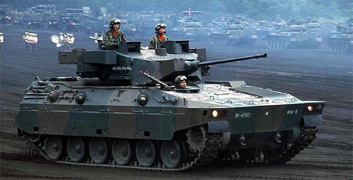 89式装甲戦闘車が御嶽山噴火で出...